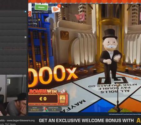 Record winsten met Monopoly Live
